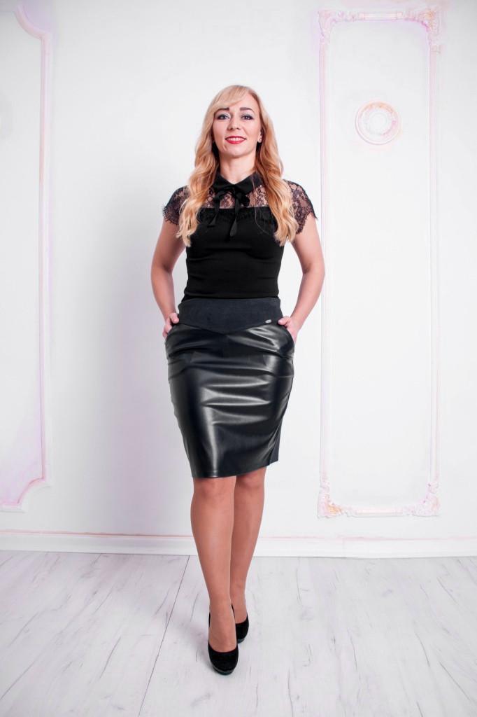 Женская юбка Рита черная
