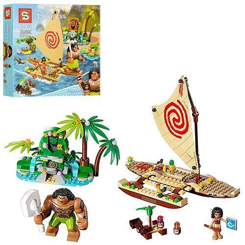Конструктор LEGO Disney Princess Подорож Моани через океан