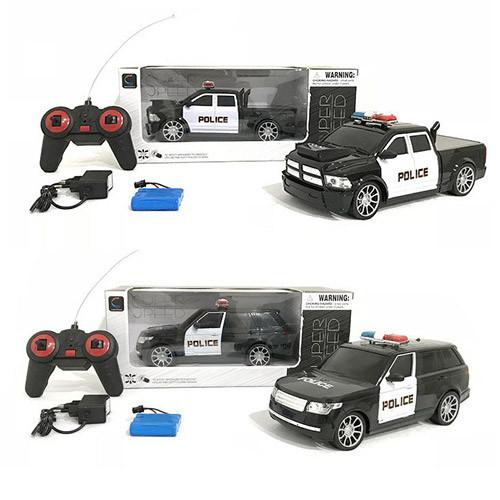 Машинка на радиоуправлении Полиция аккумуляторная Police WH 323-5-9