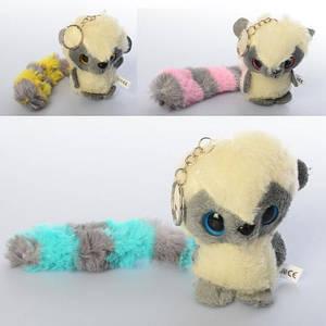 Мягкая игрушка-брелок лемур Yoohoo