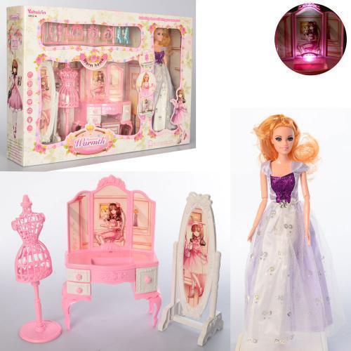 Кукла типа Барби  вида,шарнирная,с сумочкой, аксесс,