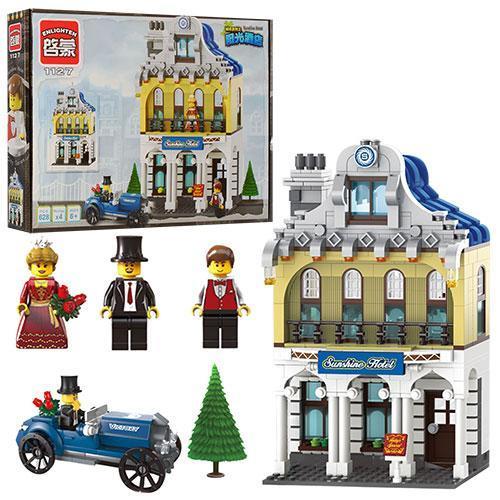 Детский конструктор Brick Отель 628 деталей
