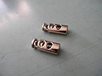 Фиксатор с двумя отверстиями (500 штук) золотой