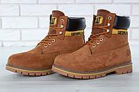 """Зимние ботинки CAT Caterpillar Colorado Boots """"Brown"""" - """"Коричневые""""  (Копия ААА+), фото 1"""