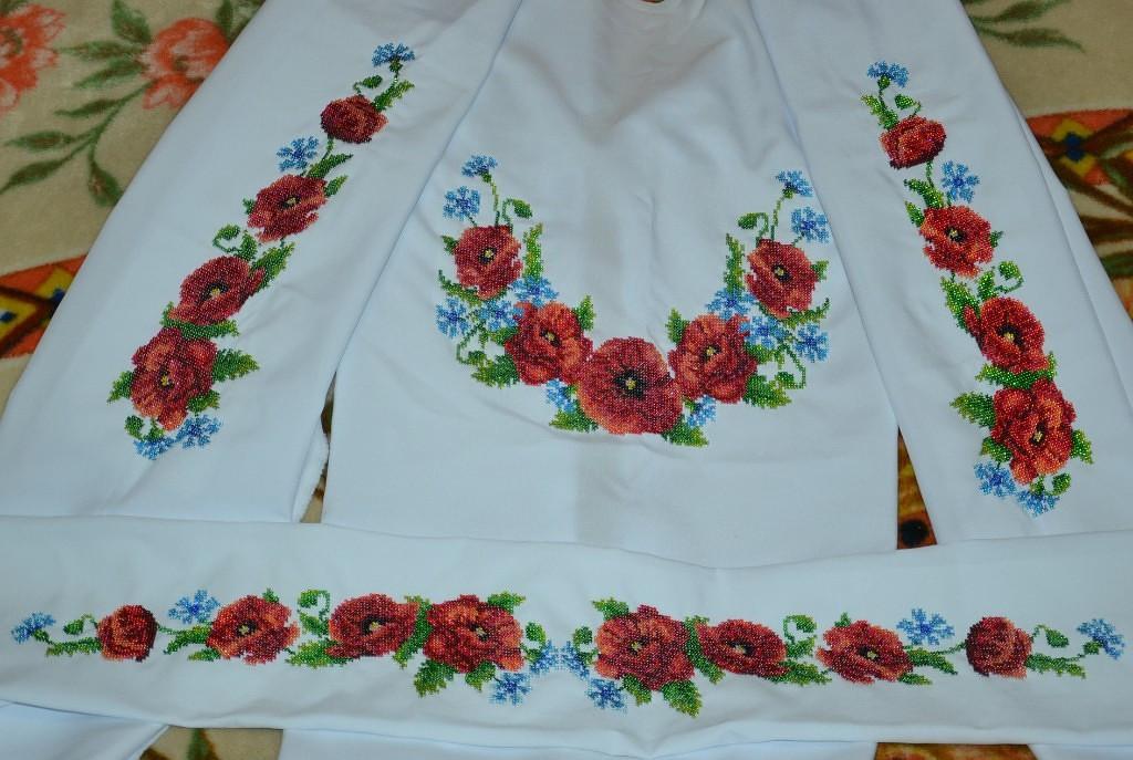 заготовки для вышивки бисером рубашек