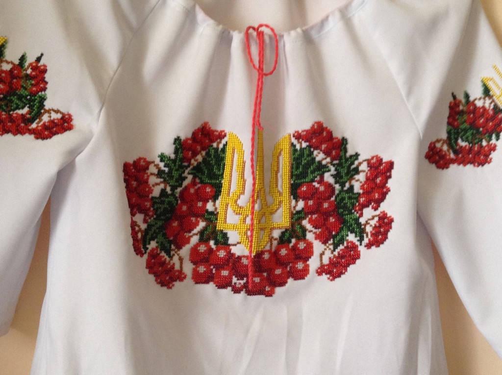 Вышивка рубашек бисером схемы