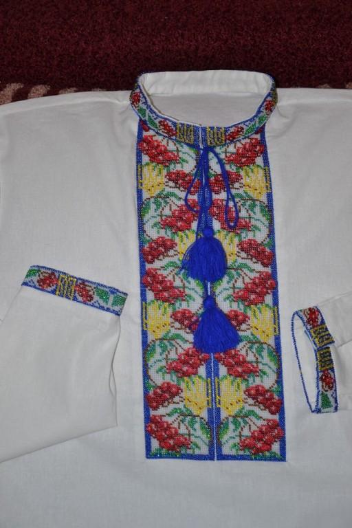 заготовки для вышивки бисером мужских рубашек