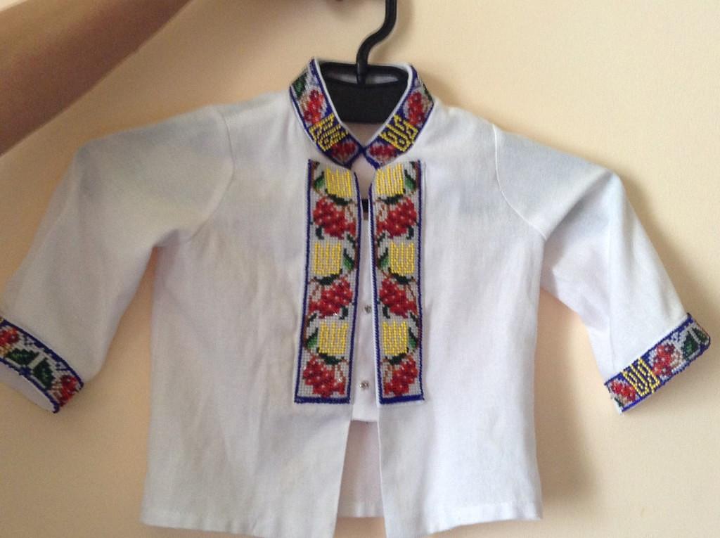 заготовки для вышивки бисером детских рубашек