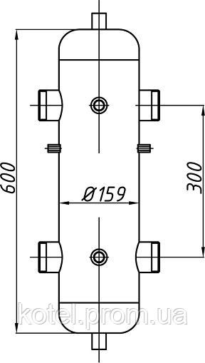 Схема гидравлической стрелки СК-28