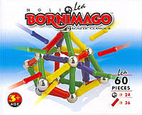 Магнитный конструктор Bornimago/Борнимаго 60 Le: 60 деталей