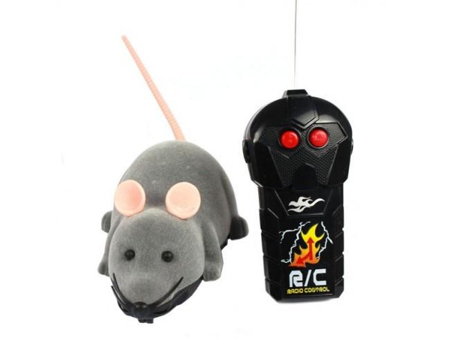 Радиоуправляемая Мышь для кошек Zymbo — мышка на пульте управления для кошек