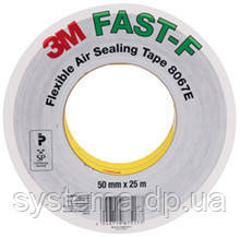 3M Flexible Air Sealing Tape 8067E FAST-F - Эластичная герметизирующая лента 60,0х0,13 мм, рулон 25 м