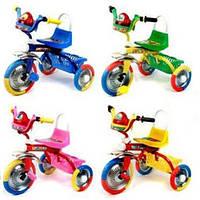 Трехколесный велосипед Profi Trike B 2-1 / 6010B  (Голубой)