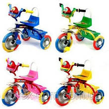 Триколісний велосипед Profi Trike B 2-1 / 6010B (Блакитний)