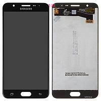 Дисплей для Samsung G610 Galaxy J7 Prime, модуль в зборі (екран і сенсор), черный, оригінал