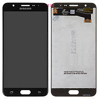 Дисплей для Samsung Galaxy On Nxt SM-G610, модуль (экран и сенсор), черный, оригинал GH96-10367A