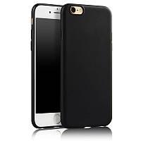 Чехол для Apple Iphone 6 / 6S силикон soft touch бампер черный
