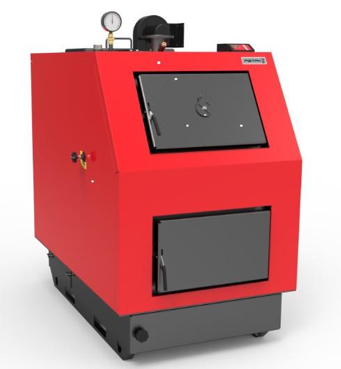 Бытовой котел на твердом топливе длительного горения РЕТРА-3М 80 кВт (RETRA 3-M)