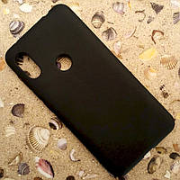 Силиконовый матовый чехол Candy для Xiaomi Redmi Note 6 Pro (Чёрный)