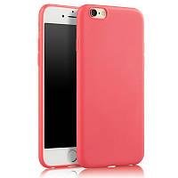 Чехол для Apple Iphone 6 / 6S силикон soft touch бампер красный