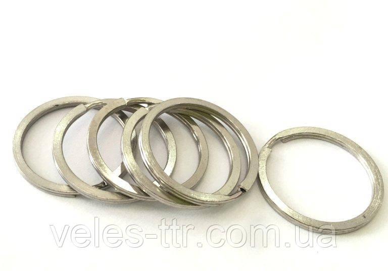 Кольцо плоское сталь 35 мм для ключей (качество)