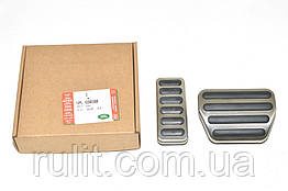 Range Rover Sport алюминиевые тюнинг накладки на педали Range ROVER Рандж Ровер Sport 2013- 2шт