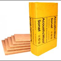 Минеральная Вата Акустическая Acoustic Wool Sonet (1000*600*50мм) уп.6м2