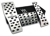 Алюминиевые тюнинг накладки на педали MERCEDES MERCEDES-BENZ Мерседес Brabus АКПП