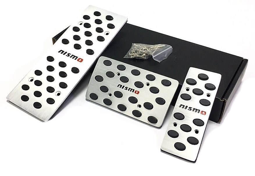 Алюминиевые тюнинг накладки на педали Nismo АКПП