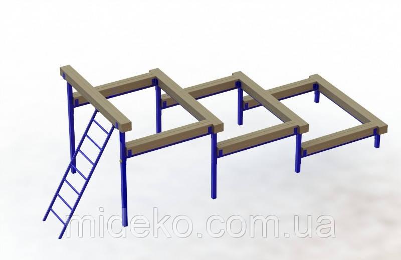 Зруйновані сходи MIDEKO