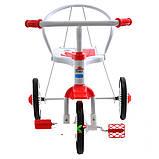 Трехколесный велосипед Profi Trike LH-701UKR-WR  (Бело-красный), фото 3