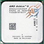 Процессор AMD Athlon II X2 240 2.8GHz/ 2MB/ 4000MHz (ADX240CK23GM) Socket AM3