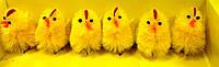 Пасхальный сувенир, Цыпленок на палочке, Н 5 см, Пасхальные подарки, Днепропетровск