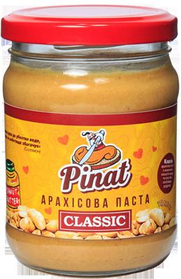 Арахисовая паста Pinat - Classic (250 грамм)