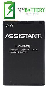 Оригинальный аккумулятор АКБ батарея для Assistant AS-4211 800 mAh 3.8 V