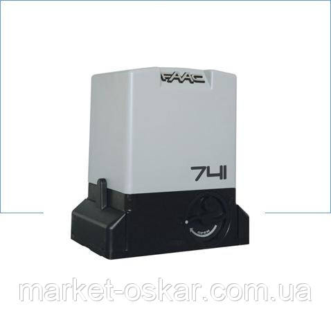 Привод 741 E Z16 редукторный  со встроеным блоком управления и монтажным основанием