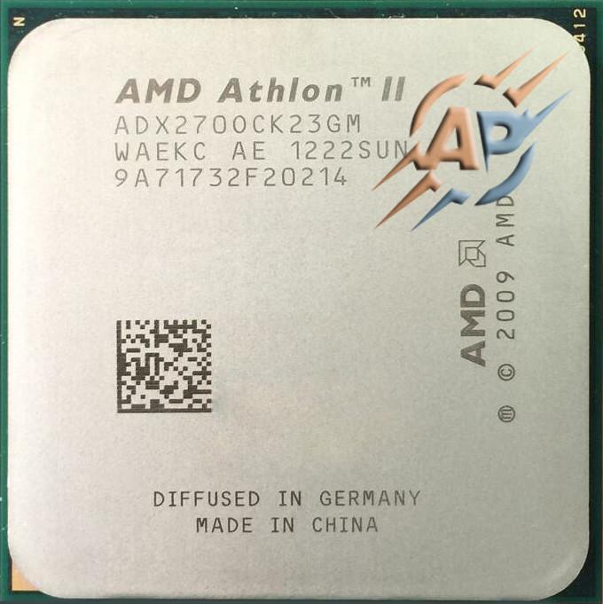 Процессор AMD Athlon II X2 270 3.4GHz/ 2MB/ 2000MHz (ADX270OCK23GM) Socket AM3
