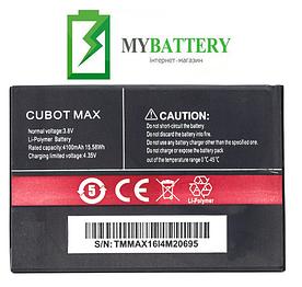 Оригинальный аккумулятор АКБ (Батарея) для Cubot Max 4100 mAh 3.8V