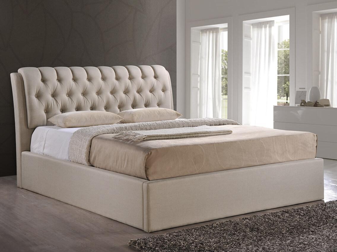 Кровать Кэмерон domini с мягким изголовьем