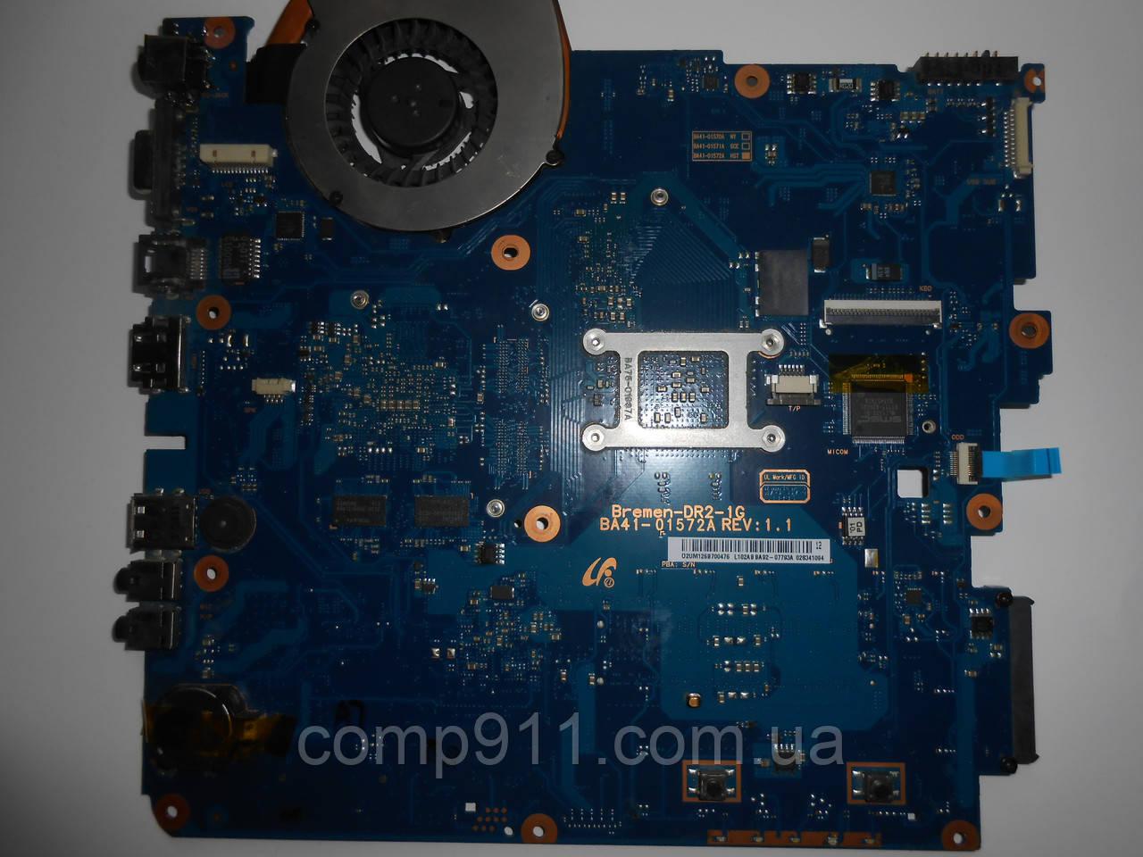 Материнская плата для ноутбука SAMSUNG R523 +Процессор+Phenom 2+Система охлаждения