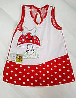 Сарафан Грибочек для девочки 1-4 года, фото 1