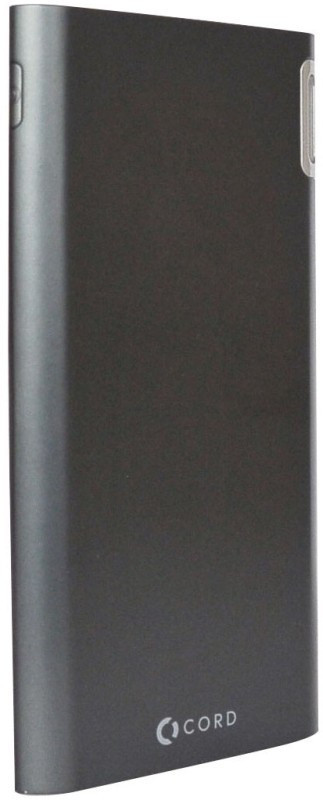 Портативное зарядное устройство Power Bank Cord J208 8000mAh Black Гарантия 12 месяцев