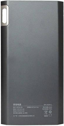 Портативное зарядное устройство Power Bank Cord J208 8000mAh Black Гарантия 12 месяцев, фото 2