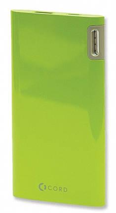 Внешний аккумулятор Power Bank Cord J205 5000mAh Green Гарантия 12 месяцев, фото 2