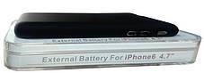 Power Bank Battery Case iPhone 6 Black 3000mAh L64A Гарантия 6 месяцев, фото 3