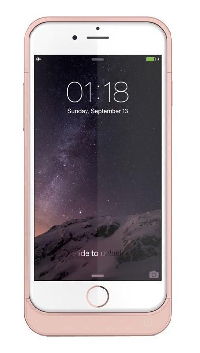 Power Bank Battery Case iPhone 6 Rose 3000mAh L64A Гарантия 6 месяцев