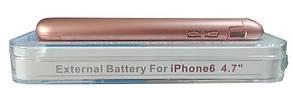 Power Bank Battery Case iPhone 6 Rose 3000mAh L64A Гарантия 6 месяцев, фото 3