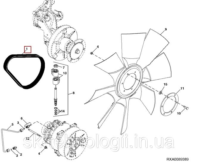R222639 Кольцо привода вентилятора