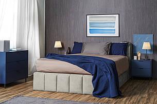 Кровать Мальта с подъемным механизмом domini мягкое изголовье, фото 2