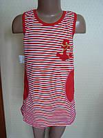 """Платье - туника для девочки """"Море - 2"""" (80, 98, 122, см)"""